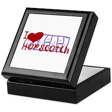 I Love Hopscotch Keepsake Box