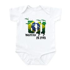 BBJ - Brazilian Jiu Jitsu Infant Bodysuit