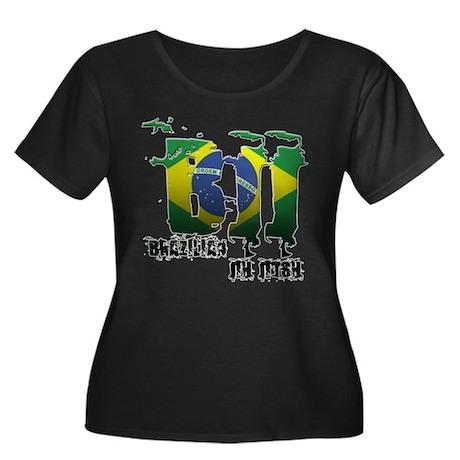 BBJ - Brazilian Jiu Jitsu Women's Plus Size Scoop