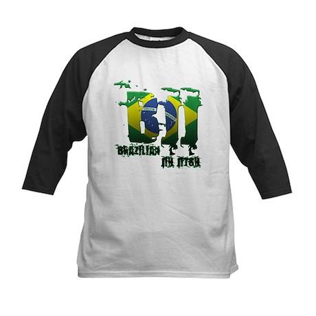 BBJ - Brazilian Jiu Jitsu Kids Baseball Jersey