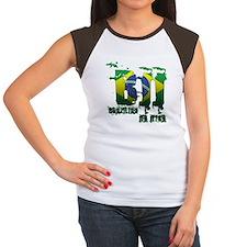 BBJ - Brazilian Jiu Jitsu Women's Cap Sleeve T-Shi