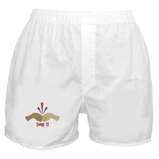 Fist Bump Boxer Shorts