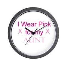 I Wear Pink for my Wall Clock