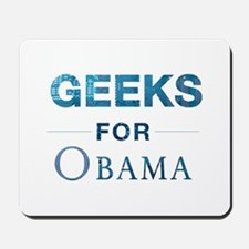 Computer Geeks for Obama Mousepad