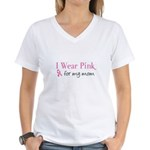 Breast Cancer Awareness: I wear pink for my mom Wo