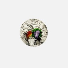 Cool Vegeterian Mini Button
