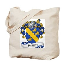 Downey Family Crest Tote Bag