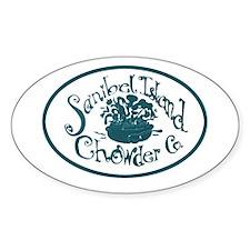 Sanibel Chowder Oval Decal