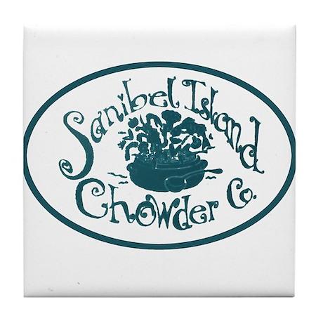 Sanibel Chowder Tile Coaster