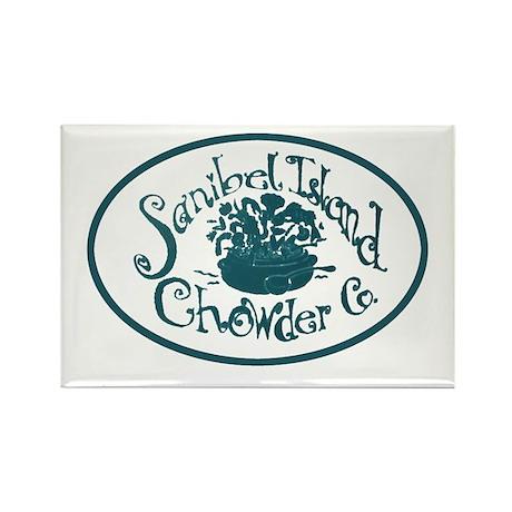 Sanibel Chowder Rectangle Magnet (10 pack)