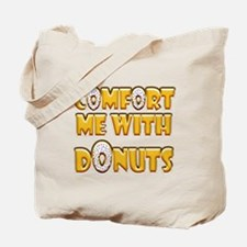 Frosted Donuts Tote Bag