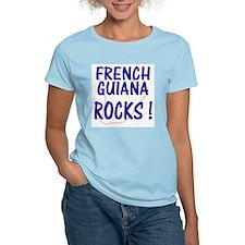 French Guiana Rocks ! Women's Pink T-Shirt