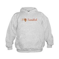 I Heart Sanibel Hoody