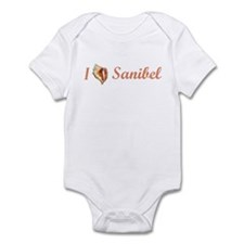 I Heart Sanibel Infant Bodysuit