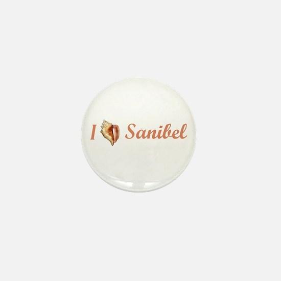 I Heart Sanibel Mini Button