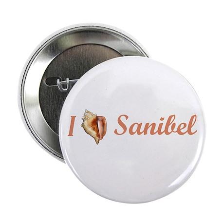 "I Heart Sanibel 2.25"" Button"