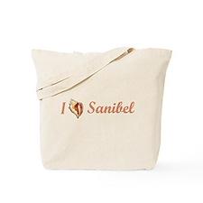 I Heart Sanibel Tote Bag