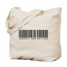 Corrections Officer Barcode Tote Bag