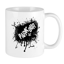 Parkour Urban Splatter Mug