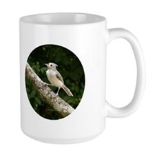 Titmouse Perched Mug
