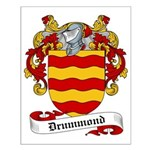 Drummond Family Crest Small Poster