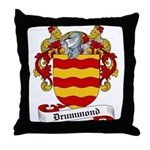 Drummond Family Crest Throw Pillow
