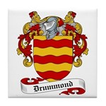 Drummond Family Crest Tile Coaster