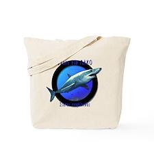 Short Fin Mako Art Tote Bag