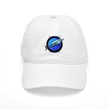 Short Fin Mako Art Baseball Cap