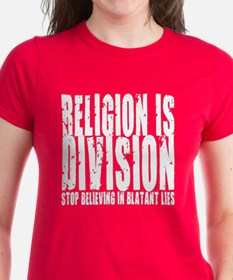 Religion is Division Tee