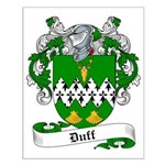 Duff Family Crest Small Poster