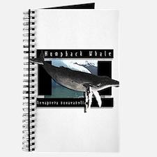 HumpBack Whale Art Journal