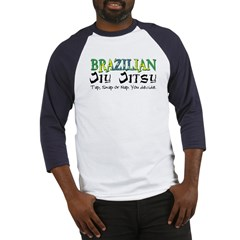 Brazilian Jiu Jitsu - Tap Sna Baseball Jersey