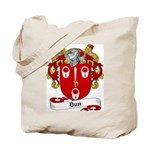 Dun Family Crest Tote Bag