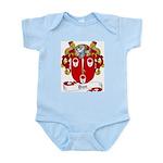 Dun Family Crest Infant Creeper