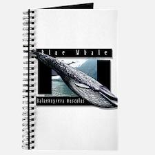 Blue Whale art Journal