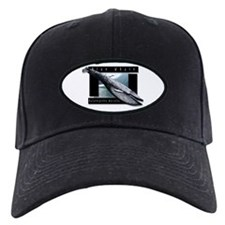 Blue Whale art Baseball Hat
