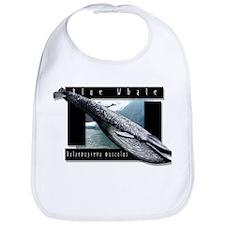 Blue Whale art Bib