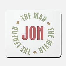 Jon Man Myth Legend Mousepad
