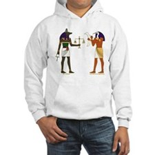 Anubis and Thoth Art Hoodie Sweatshirt