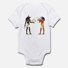 Anubis and Thoth Art Infant Bodysuit