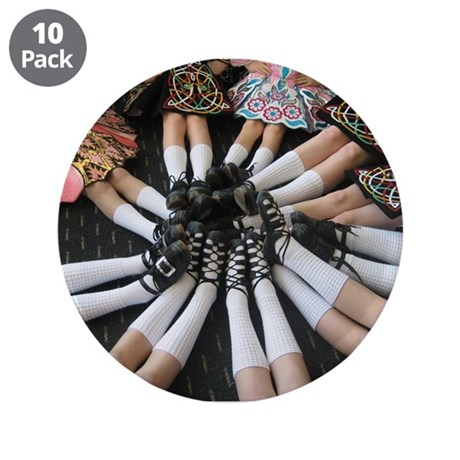 """Before the Dance 3.5"""" Button (10 pack)"""