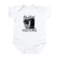 Alien Visitors Infant Bodysuit