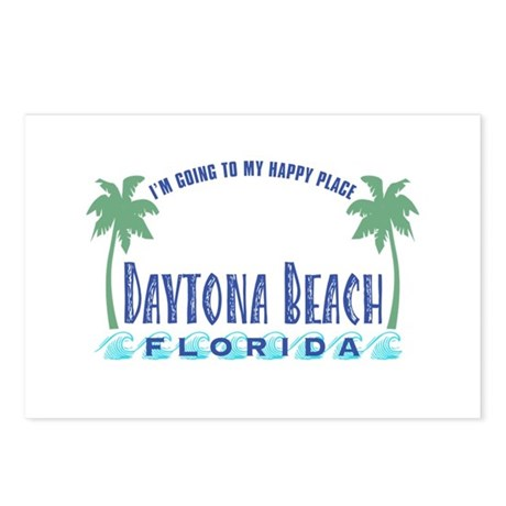Daytona Happy Place - Postcards (Package of 8)