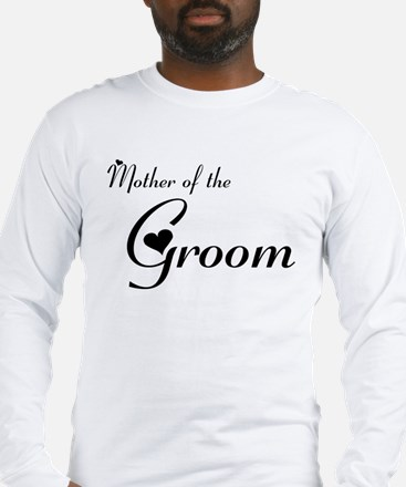 FR Mother of the Groom's Long Sleeve T-Shirt