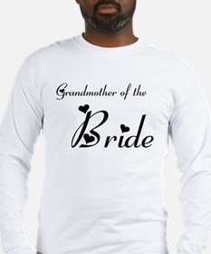 FR Grandma of the Bride's Long Sleeve T-Shirt