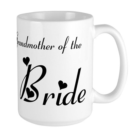 FR Grandma of the Bride's Large Mug