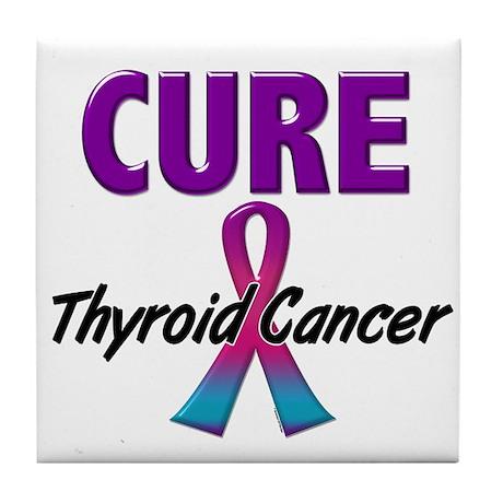 CURE Thyroid Cancer 1.1 Tile Coaster