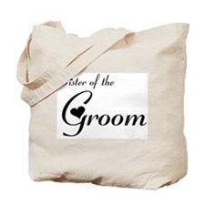 FR Sister of the Groom's Tote Bag