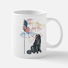 USA Flag Newfoundland Mug